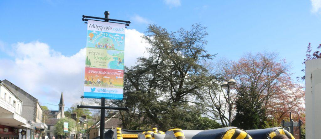 Milngavie Douglas Street Banner
